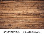 Close Up Of Wall Made Of Wooden ...