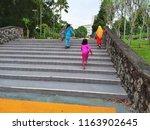 kota kinabalu  malaysia  august ... | Shutterstock . vector #1163902645