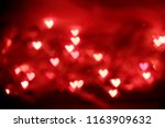 Blurred Red Heart Bokeh For...