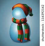 realistic and detailed beanie... | Shutterstock .eps vector #116392162