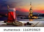 Turkish Tea In The Background...