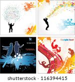 banners for sports... | Shutterstock .eps vector #116394415