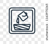 fill vector icon isolated on... | Shutterstock .eps vector #1163970265