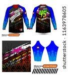 long sleeve motocross jerseys t ...   Shutterstock .eps vector #1163978605