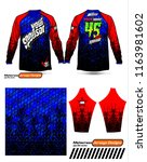 long sleeve motocross jerseys t ...   Shutterstock .eps vector #1163981602