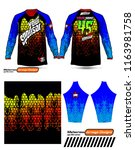 long sleeve motocross jerseys t ...   Shutterstock .eps vector #1163981758
