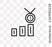 class reward vector icon... | Shutterstock .eps vector #1163983228