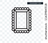 photograph vector icon isolated ... | Shutterstock .eps vector #1163984518