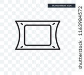 photograph vector icon isolated ... | Shutterstock .eps vector #1163984572