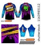 long sleeve motocross jerseys t ...   Shutterstock .eps vector #1163985112