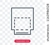 intersect vector icon isolated... | Shutterstock .eps vector #1163986528