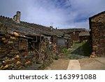 small villaje of guadalajara ...   Shutterstock . vector #1163991088