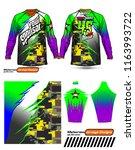 long sleeve motocross jerseys t ...   Shutterstock .eps vector #1163993722