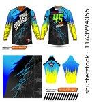 long sleeve motocross jerseys t ...   Shutterstock .eps vector #1163994355