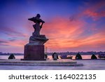 in dong hoi city  quang binh... | Shutterstock . vector #1164022135
