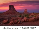 Dusk Over The Mittens  Monument ...
