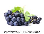 grapes on a white background | Shutterstock . vector #1164033085