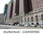 chicago  usa   march 14  2018   ... | Shutterstock . vector #1164034582