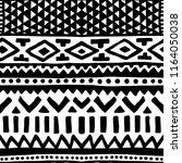 seamless ethnic pattern....   Shutterstock .eps vector #1164050038