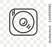 cd writer vector icon isolated... | Shutterstock .eps vector #1164054082