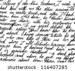 Fragment Of A Handwritten...
