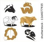 sheep  vector set. farm sign....