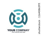 letter c logo  letter c with... | Shutterstock .eps vector #1164086395