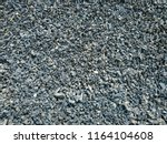 granite gravel texture or... | Shutterstock . vector #1164104608
