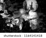 horror. an hand drawn... | Shutterstock . vector #1164141418