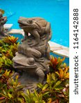 Beautiful Statue Of Frogs On...