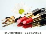 female lipstick | Shutterstock . vector #116414536