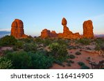 Balanced Rock In Arches...