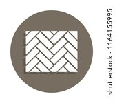 parquet icon in badge style....