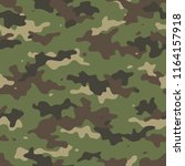 camouflage seamless pattern....   Shutterstock .eps vector #1164157918