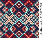 beading design  tribal design ... | Shutterstock .eps vector #1164178798