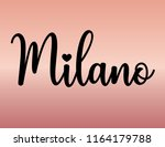 Decorative Milano Text  Black...