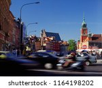 warsaw poland   june 2010  old... | Shutterstock . vector #1164198202