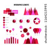 infographic elements  trendy... | Shutterstock .eps vector #1164215995