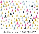 magic firs landscape for... | Shutterstock .eps vector #1164232462
