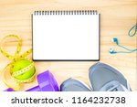 exercise equipment use to wear...   Shutterstock . vector #1164232738
