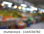 blur image of fruits and... | Shutterstock . vector #1164236782