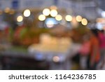 blur image of fruits and... | Shutterstock . vector #1164236785
