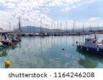 lefkada  greece   june 06 2018  ... | Shutterstock . vector #1164246208