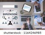 reputation popular ranking... | Shutterstock . vector #1164246985