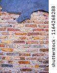 brick wall background texture  | Shutterstock . vector #1164268288