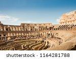 rome  italy   april 16 2011  ...   Shutterstock . vector #1164281788