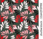 Stock vector abstract floral seamless pattern background 1164293998