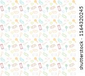 pattern candy color line vector | Shutterstock .eps vector #1164320245
