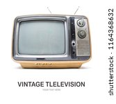 creative layout made of vintage ... | Shutterstock . vector #1164368632