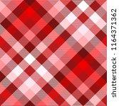 plaid pattern in red  burgundy  ... | Shutterstock .eps vector #1164371362